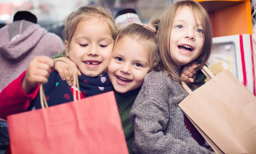1abbc060 OPPTATT AV MERKEKLÆR: Tobarnsmoren ble veldig overrasket da hun hørte hva  seksåringene snakket om.
