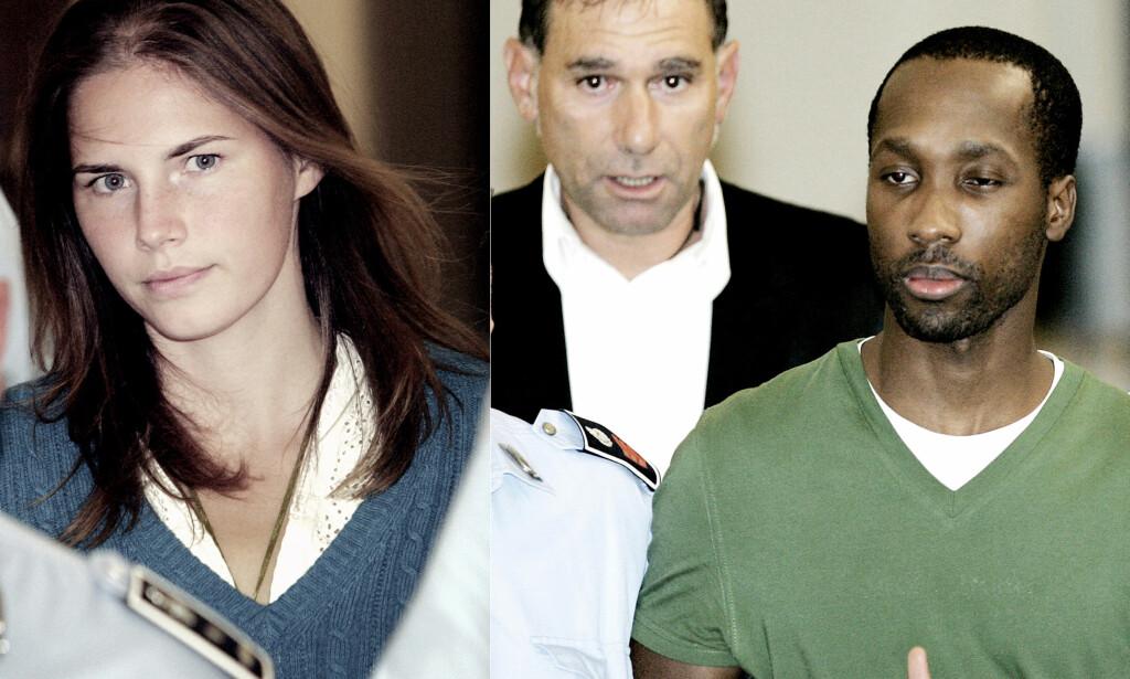 FRIKJENT: Amanda Knox er frikjent for det brutale drapet som fant sted i 2008. Rudy Guede soner fortsatt dommen for drapet. Foto: NTB Scanpix