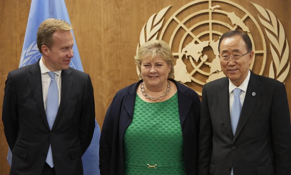 FORSVAR: FN er vår første og mest robuste skanse mot ytre angrep på nasjonen vår, skriver Ingrid Aune. Foto: Mark Sullivan / Pafific Press / NTB scanpix.