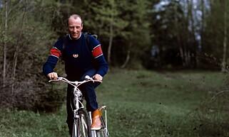 HARALD PÅ SKAUGUM: Kong Harald eide Skaugum fram til han overdro eiendommen til kronprins Haakon. Foto: NTB Scanpix