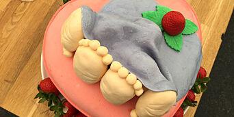 image: Denne kaka skaper debatt i Danmark - tv-sjef legger seg flat