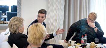 Dramatisk i forsvarsforhandlingene: Oppvaskmøte med Venstre og KrF på statsministerens kontor