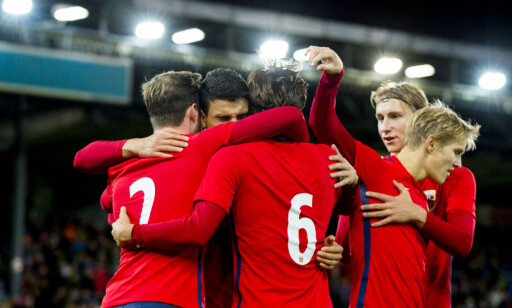 IMPONERTE: Norge slo Sveits fullt fortjent 2-1 på Marienlyst. Foto: Vegard Wivestad Grøtt / NTB scanpix
