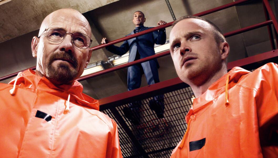 <strong>BLIR FILM:</strong> Suksesserien «Breaking Bad» blir film, men ikke alle er like begeistret. Foto: Sony Pictures Television.