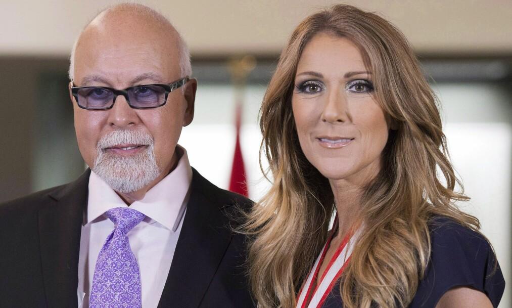 <strong>DØDE I JANUAR:</strong> Ektemannen til Celine Dion, René Angélil, tapte i januar kampen mot kreften. Foto: THE CANADIAN PRESS/Jacques Boissinot
