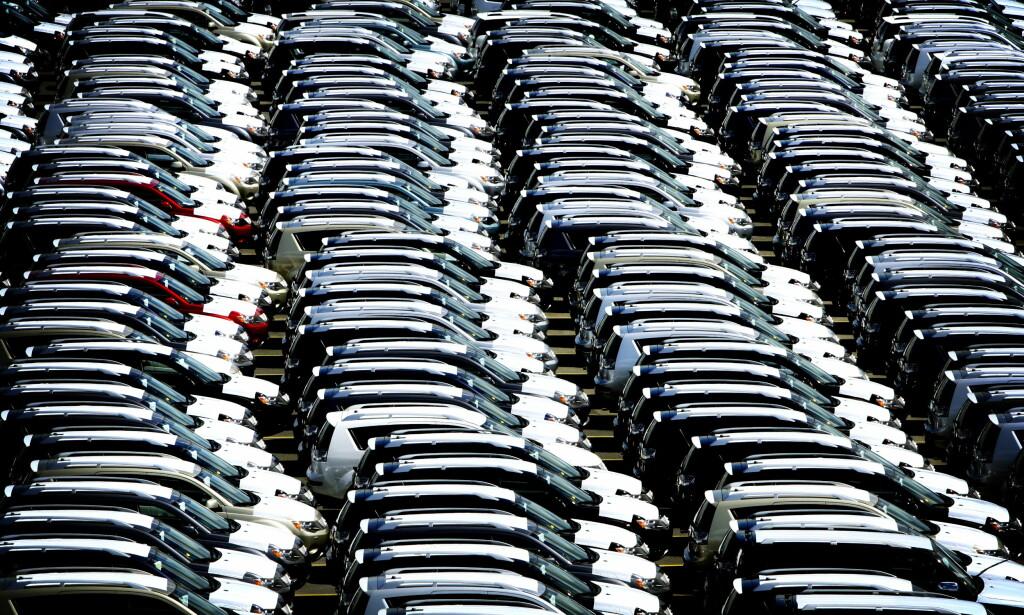 STUPER: Salget av personbiler på det europeiske markedet gikk ned hele 52,7 prosent i mars, sammenlignet med samme måned 2019. Foto: Bjørn Langsem