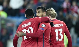 SLUTTSPURT: Adama Diomande, Joshua King og Martin Samuelsen scoret ett mål hver i løpet av seks minutter for Norge. Foto: Bjørn Langsem / Dagbladet