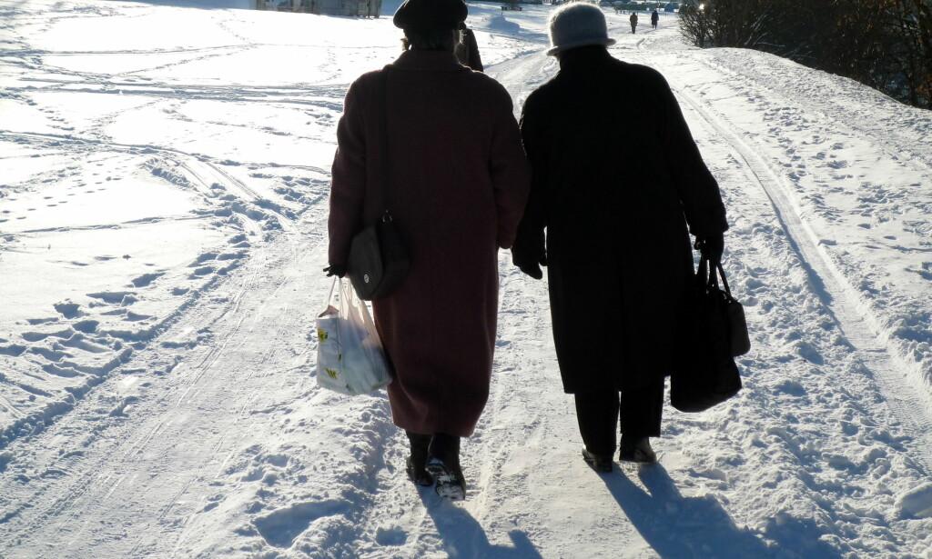 NØYSOMHET: De unge bør lære litt nøysomhet av de gamle, skriver artikkelforfatteren. Foto: Geir Bølstad