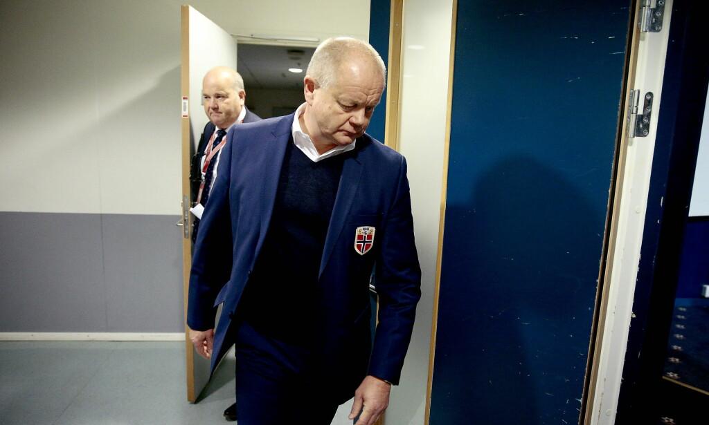 PRESSET: Per-Mathias Høgmo ettet en svak start på VM-kvalifiseringen. Foto: Bjørn Langsem / Dagbladet