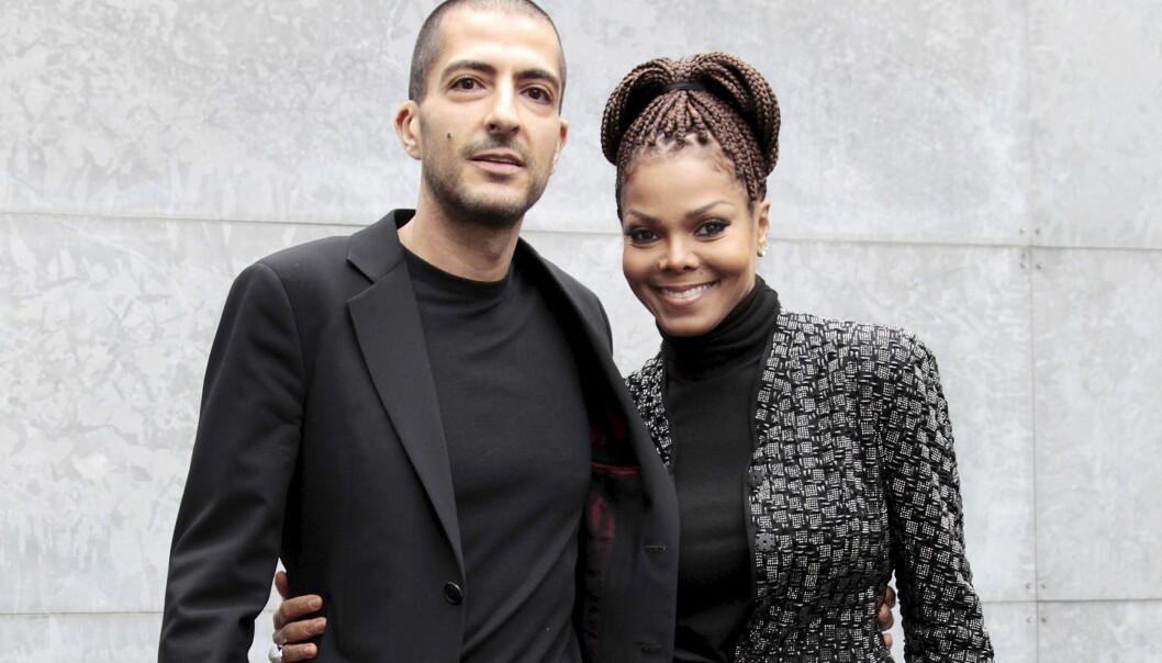 STOLTE FORELDRE: Janet Jackson (50) og kjæresten Wissam Al Mana (41) ble foreldre på tirsdag. Sønnen deres har fått navnet Eissa Al Mana . FOTO: REUTERS/Alessandro Garofalo/Files
