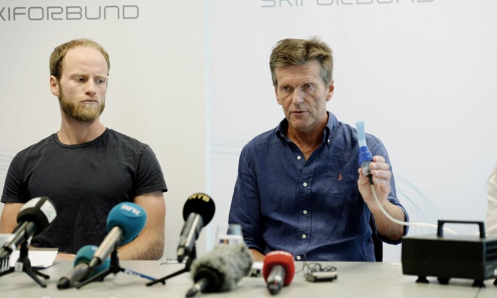 TO SAKER: Både Martin Johnsrud Sundby og Therese Johaug har nå vært innbladet i uheldige saker. Foto: John Terje Pedersen / Dagbladet