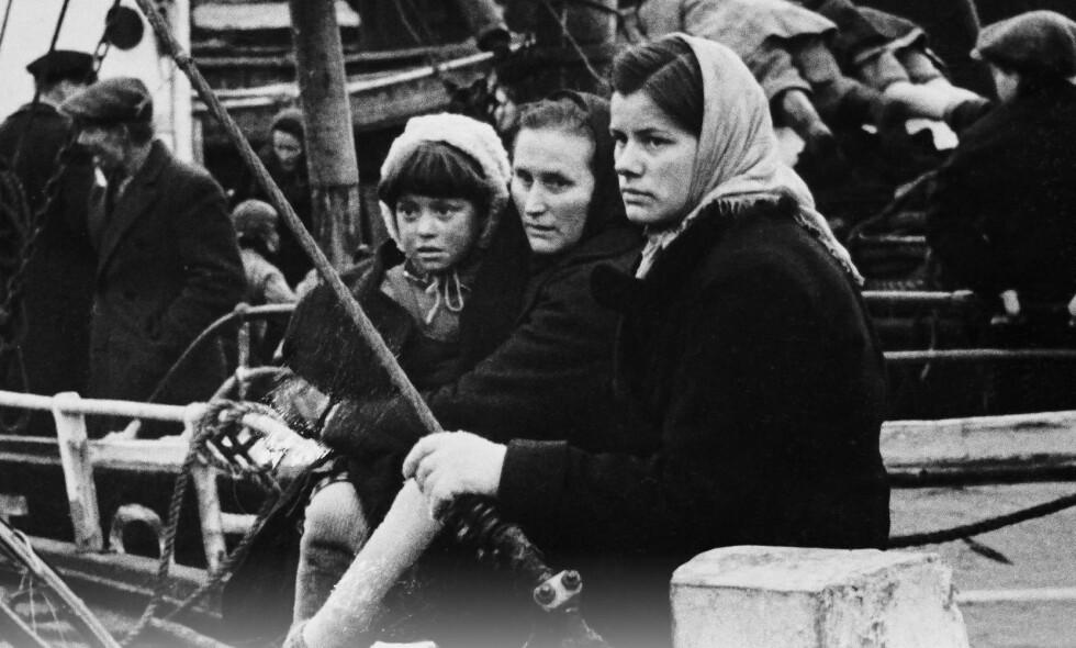 HELHETLIG BILDE: Asbjørn Jaklin villet gi en helhetlig framstilling av tvangsevakueringen av Finnmark, høsten 1944.  Foto: FRA BOKA