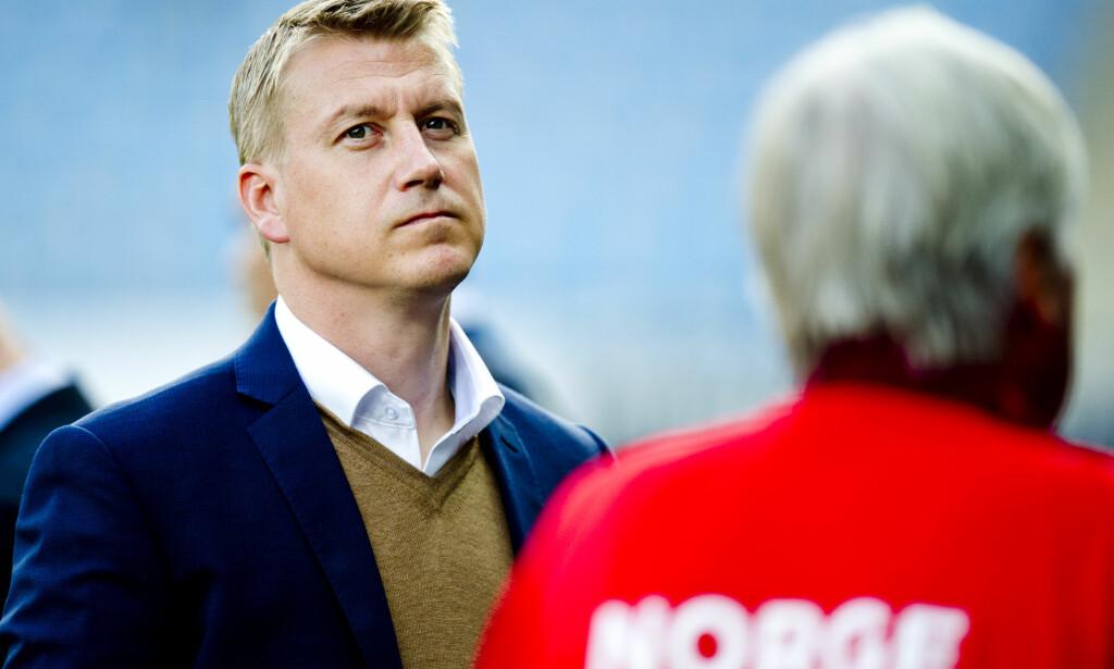 KVINNESJEF: Leif Gunnar Smerud blir midlertidig landslagstrener i kvinnefotball. Han er ansvarlig for U21-landslaget. <div></div><div> Foto: Jon Olav Nesvold / NTB scanpix</div>