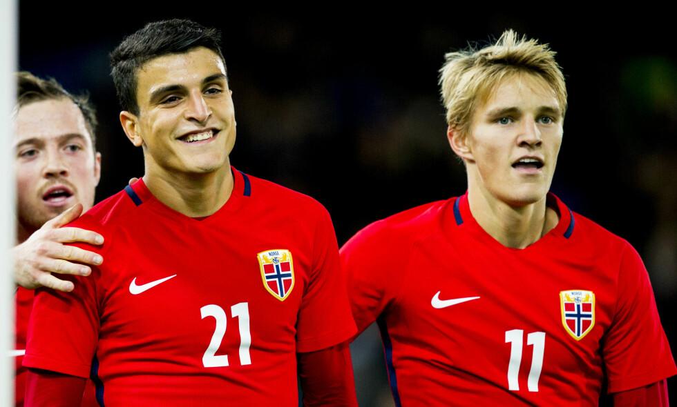 LEVERER: Akkurat som for tre år siden er det norske U21-landslaget i ferd med å få fram et lag helt i europatoppen. Likevel blir A-landslaget bare svakere og svakere. Foto: Vegard Wivestad Grøtt / NTB scanpix