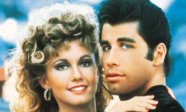 BLE KJENT OVER NATTA: Olivia Newton-John er best kjent fra filmen «Grease» i 1978. Der spilte hun mot John Travolta. Foto: NTB scanpix