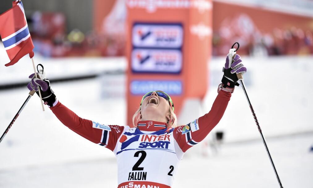 <strong>USKYLDIG:</strong> Therese Johaug er uskyldig. Hun er ingen jukser. Hun bør ikke dømmes av noen andre enn idrettsdomstolen. Og det skal ikke få ødelegge hennes ettermæle, skriver artikkelforfatteren. Foto: Hans Arne Vedlog / Dagbladet
