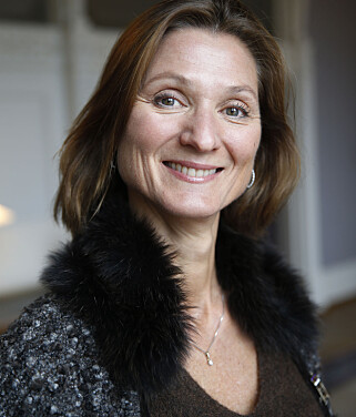 SVARER: Kommunikasjonssjef ved Det kongelige hoff, Marianne Hagen. Foto: Cornelius Poppe / NTB scanpix