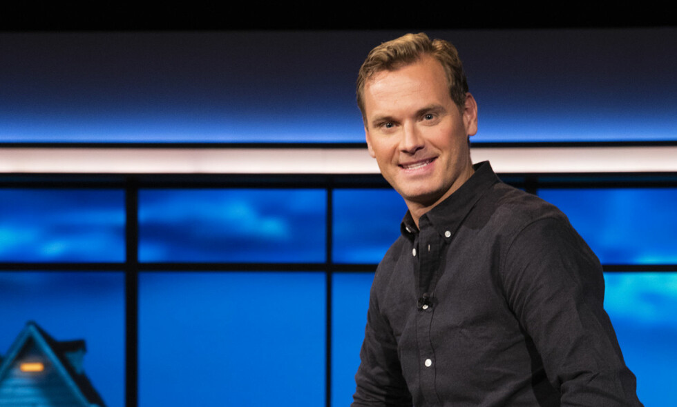 LEDER KRANGLE-TV: Komiker Øyvind Rafto skal lede TV3s nye konsept «Den jævla naboen», som tar for seg reelle nabokrangler fra det ganske land. I tillegg kommer to kjendisgjester ukentlig, som skal dele sine egne nabohistorier. Foto: Øystein Klock / TV 3