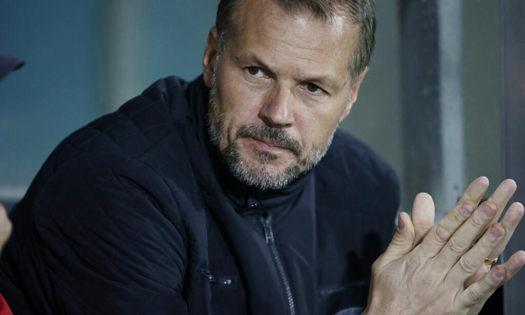 TV-EKSPERT: Kjetil Rekdal gikk fra å være trener i Vålerenga til ekspert på Eurosport. Foto: Berit Roald / NTB scanpix
