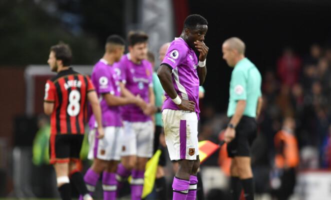 <strong>NEGATIV UTVIKLING:</strong> Hull og Adama Diomande må gjøre grep om de skal overleve i Premier League. Foto: NTB Scanpix