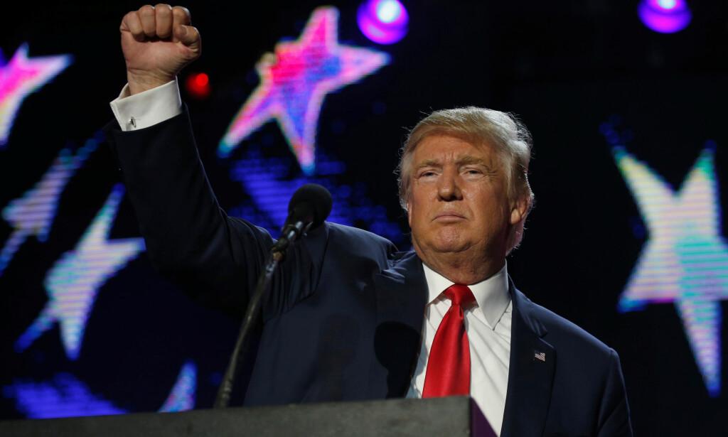 NÅDELØS: Donald Trump (70) har vist seg å være nådeløs med både motstandere og samarbeidspartnere i løpet av sin lange karriere. Foto: REUTERS/Jonathan Ernst/NTB scanpix