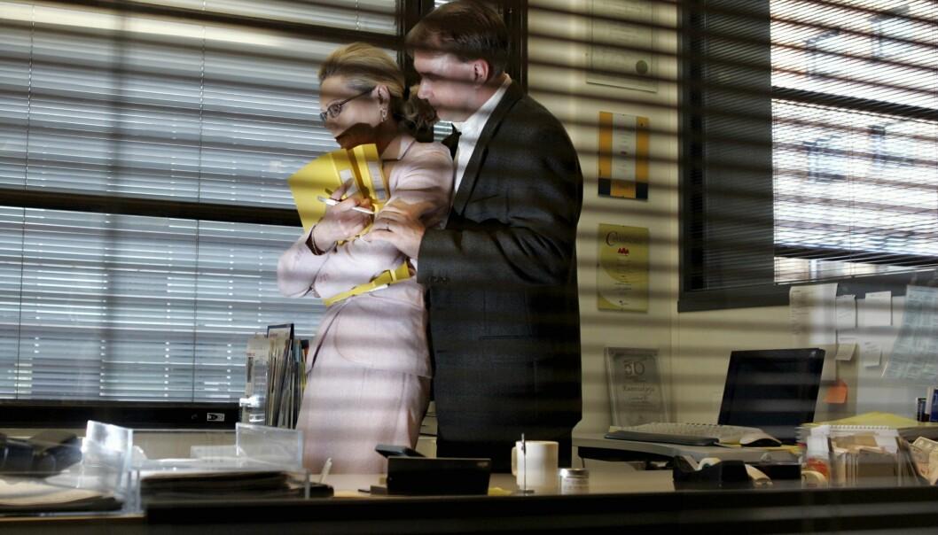<strong>Ignoreres:</strong> Arbeidsgivere i Norge svikter massivt ved å ikke ha implementert lavterskel-rutiner for å håndtere sextrakassering av og mot egne ansatte, skriver innleggsforfatteren. Illustrasjonsbilde: Jussi Nukari / Lehtikuva / NTB scanpix&nbsp;