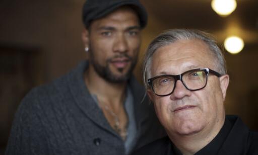 STORFILM: Egil Ødegård og John Carew planlegger tidenes dyreste norske prosjekt i «Black Frost». Foto: Aftenposten