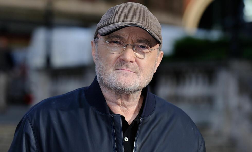 FALT PÅ BADET: Phil Collins falt på badet, noe som kunne ha stoppet comebacket hans. Foto: Aurore Marechal/ABACAPRESS.COM