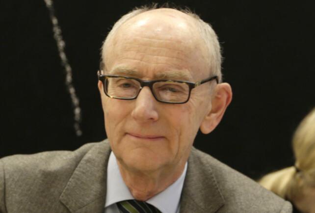 ADVARER: Jusprofessor Jan Fridthjof Bernt advarer mot konsekvensene av statsministerens forslag. Foto: Vidar Ruud / NTB scanpix