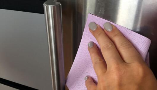 Skinnende blanke ståloverflater? Såpe kan gjøre vondt verre