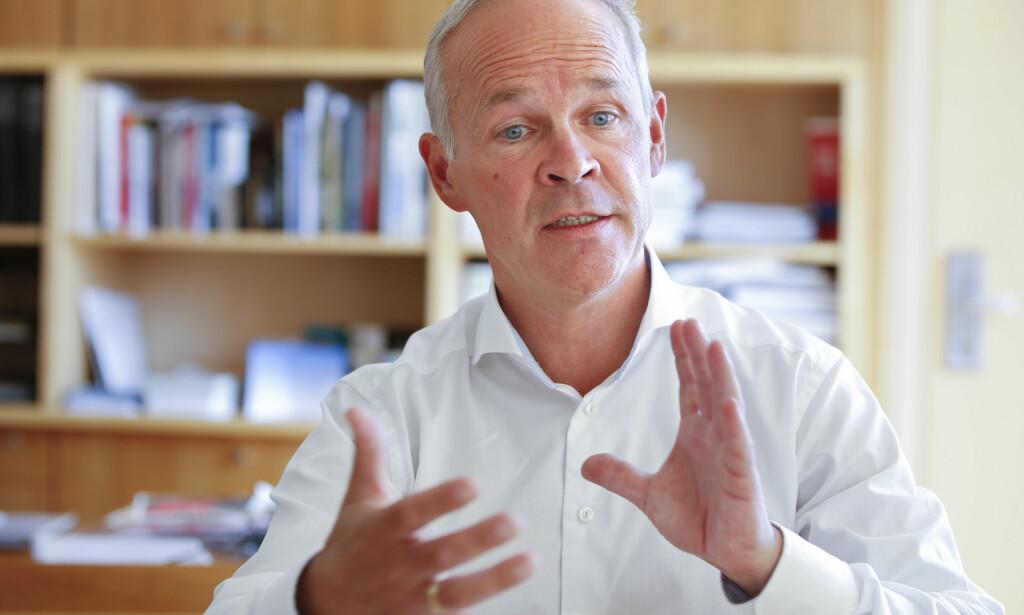 STANSET AV STORTINGET: Statsråd Jan Tore Sanner (H). Foto: Terje Pedersen / NTB scanpix