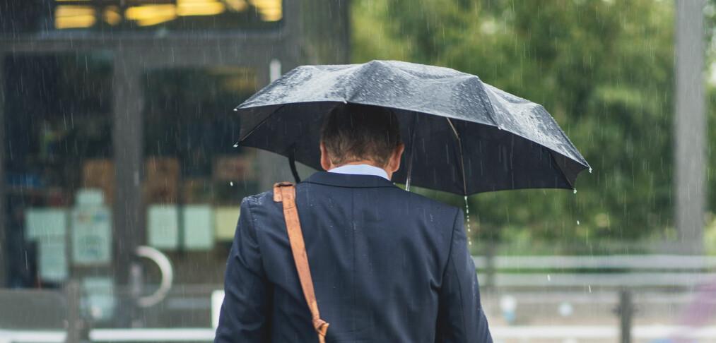 Slik tar du vare på paraplyen