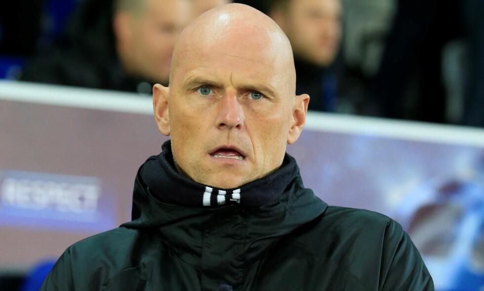 GIKK PÅ TAP: Ståle Solbakken og FC København tapte borte mot Leicester tirsdag kveld. Foto: Lindsey Parnaby / Anadolu Agency / NTB Scanpix