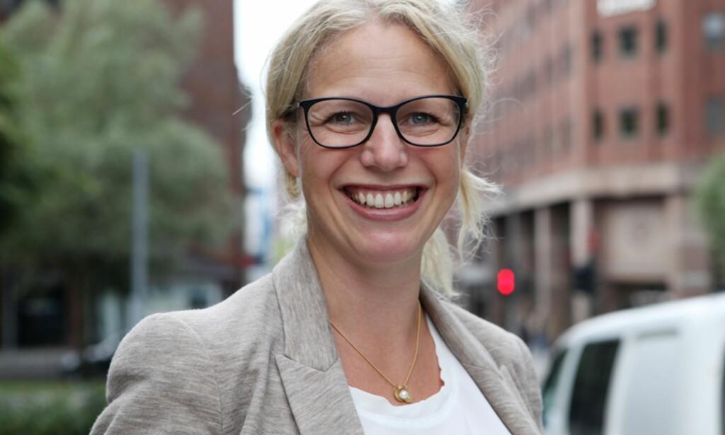 POSITIV: Helsetopp Linda Granlund