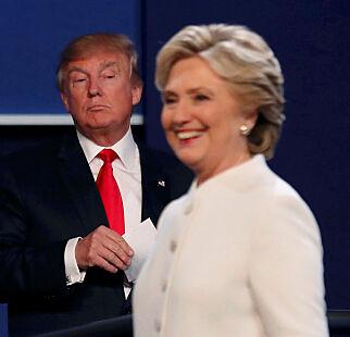 image: Au da, Donald! Hillary med kjempeledelse i ny måling