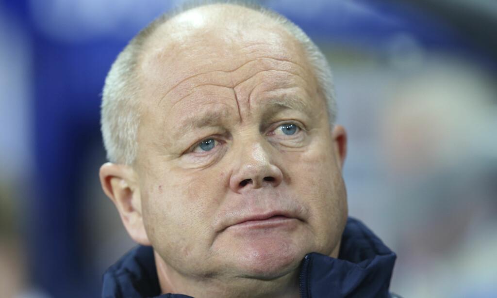 BUNN: Per-Mathias Høgmo har aldri vært dårligere ranket. Nå er Norge nummer 81 på Fifa-rankignen. Foto: Vidar Ruud / NTB scanpix