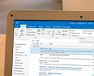 Får du masse e-poster? Da bør du tilpasse Outlook-innboksen din