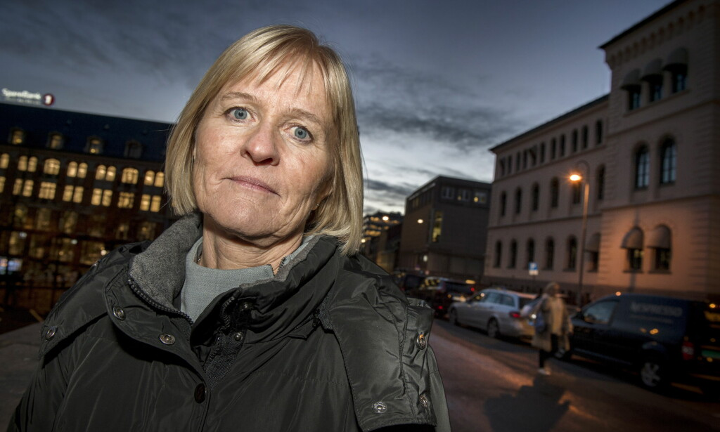 IRRITERT PÅ NHO: Unio-leder Ragnhild Lied ber Skogen Lund ligge unna. Foto: Øistein Norum Monsen / Dagbladet