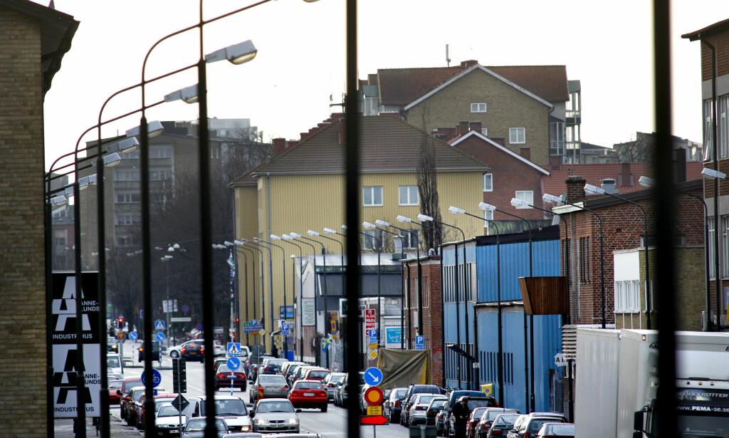 PÅSTÅR Å HA UTFØRT ANGREP PÅ MALMÖ: - Brannen IS tok på seg skjedde i Norra Grängesbergsgatan i Malmö. Her et arkivbilde av gata. Foto: Hussein El-Alawi / Sydsvenskan / SCANPIX **OUT Kvällsposten, Skånska Dagbladet, Metro Skåne** ***BETALBILD***