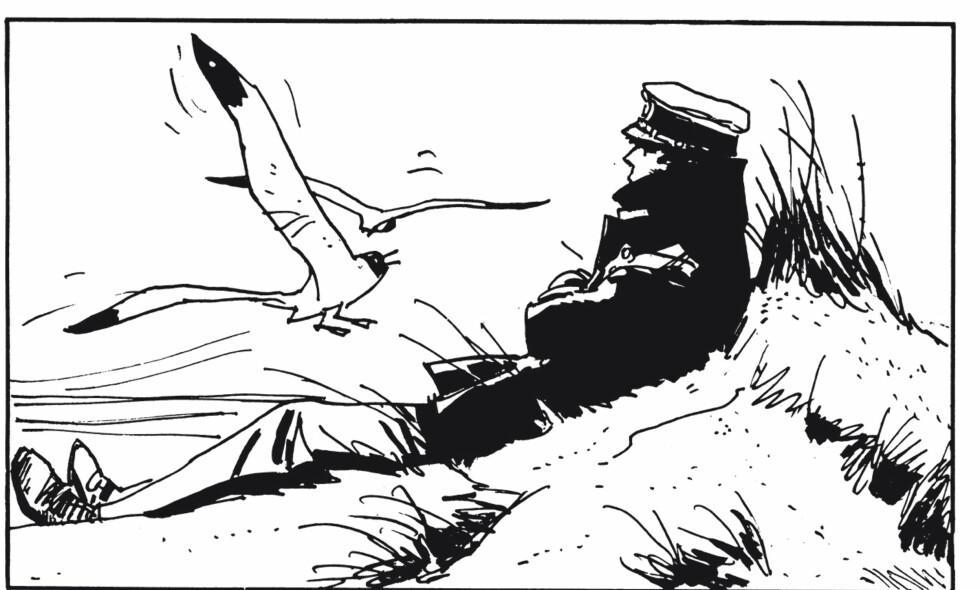 VAKRE TEGNINGER: Hugo Pratts tegneserier om vandreren Corto Maltese regnes for å være blant verdens beste i sitt slag.