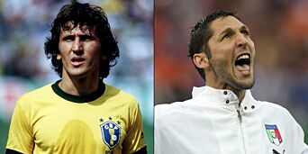 image: Brasils Zico mot Italias Materazzi: Indias største hatoppgjør