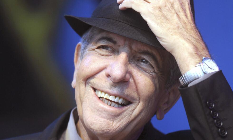 - Leonard Cohen har etterlatt seg et makeløst musikalsk og lyrisk verk. Det er bare å takke i ydmykhet for den visjonen av verden han har latt oss få ta del i, skriver Dagbladets Fredrik Wandrup i denne kommentaren. Foto: Tor Erik Mathiesen