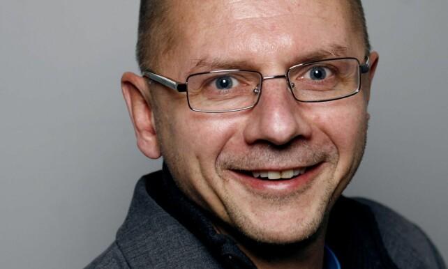 Runar Døving, professor ved Høyskolen Kristiania.