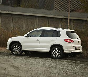 <strong>VW TIGUAN:</strong> Vår bruktbiltester har mye godt å si om denne SUV-en også.