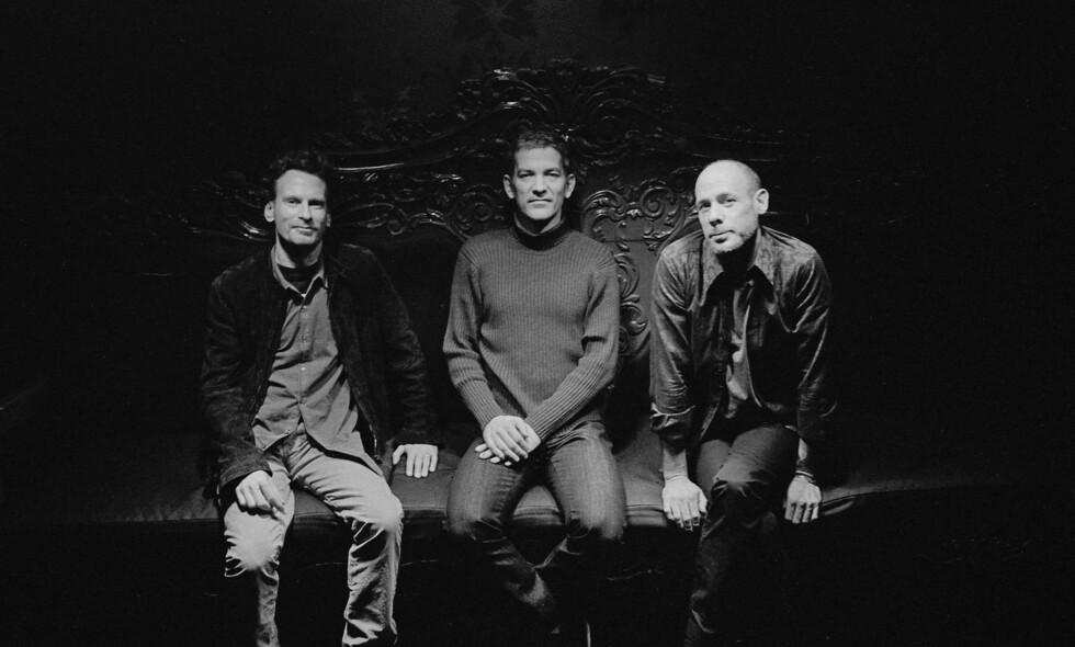 BRAD MEHLDAU TRIO: Fra venstre Larry Grenadier, Brad Mehldau og Jeff Ballard - en av de flotteste pianotrioene i dagens jazz.