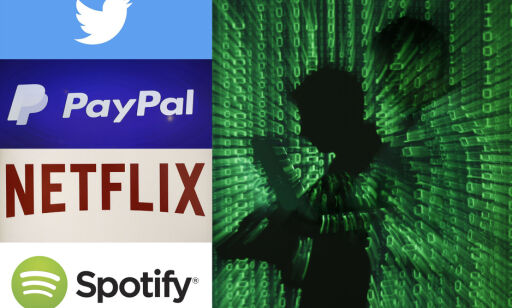 image: Hacket amerikansk selskap og rev ned nettsidene du besøker oftest: Gjorde det «bare for å måle styrke»