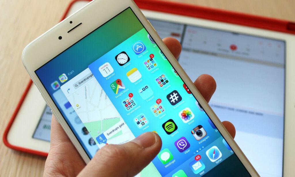 image: Lukker du appene for å lade mobilen raskere? Det kan virke mot sin hensikt
