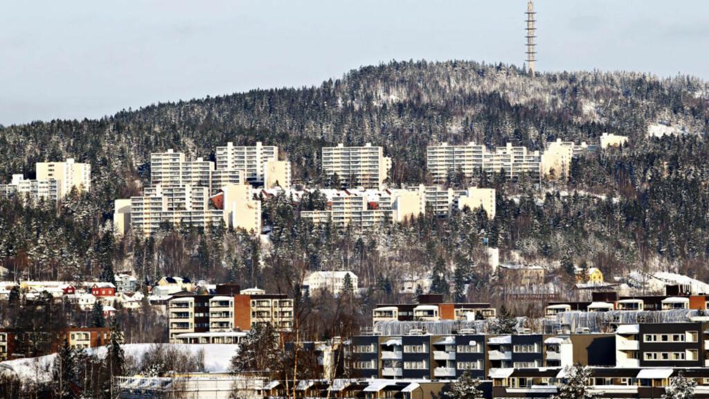 BYUTVIKLING: Byrådet ønsker å legge store deler av et eventuelt OL til Groruddalen for å jevne ut forskjeller mellom øst og vest i Oslo. Foto: Håkon Mosvold Larsen / NTB Scanpix