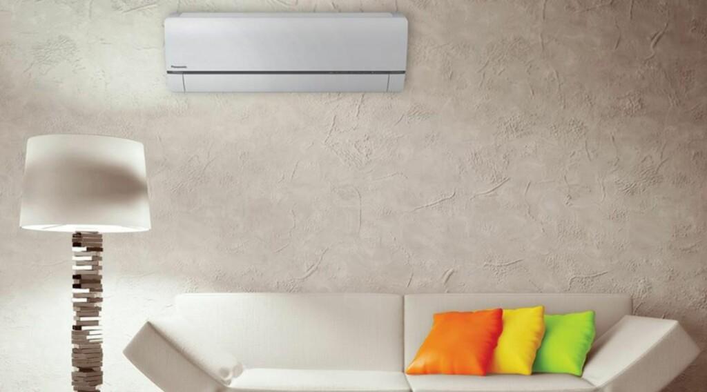 ENERGISPARING: En varmepumpe, plassert i en bolig hvor varmlufta kan strømme noenlunde fritt, vil kunne gi en merkbar besparelse. Foto: Ecoconsult