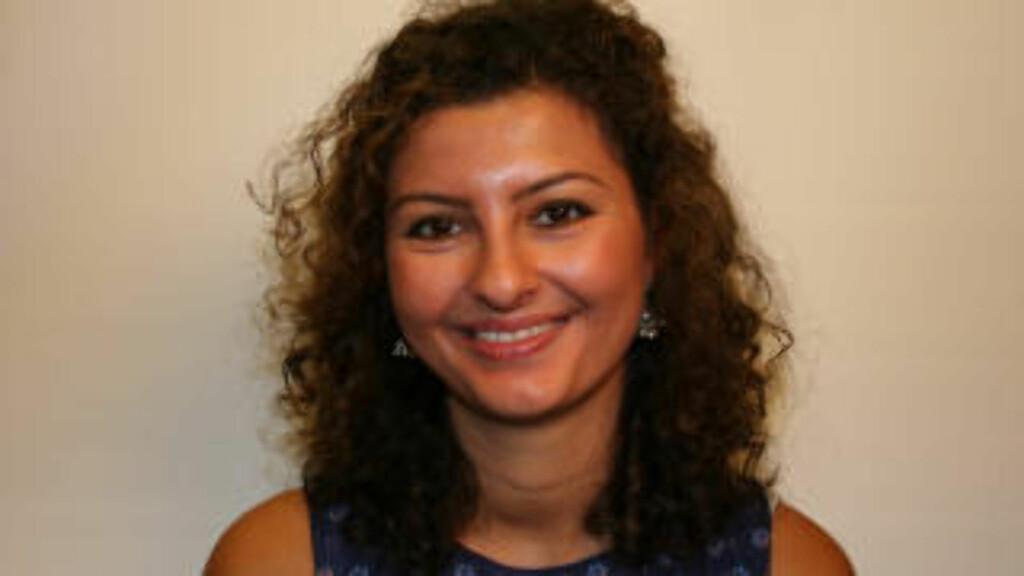Noor Mahmoud har mastergrad i fredsstudier.